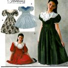 Girls Special Occasions Dress Sewing Pattern Party Holiday Church Full Skirt 7 8 10 8145
