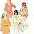 Vintage Tunic Top Sewing Pattern Vintage Boy Pirate Shirt Mandarin Collar Peasant Blouse 6 8 6385
