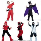 Boys Halloween Costume Sewing Pattern Batman Ninja Super Hero Race Car Power Ranger 4951 3-6
