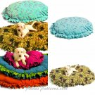 Easy No Sew Dog Pet Beds Sewing Pattern Fleece Small Med Large 5410