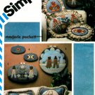 Amish Prim Sewing Pattern Applique Pillow Wall Hanging Country Farm Vintage Home Husband Wife 5914
