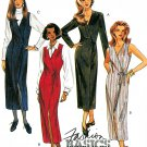 Wrap Dress Jumper Sewing Pattern Vintage Long Sleeve Sleeveless Trendy Retro Slim Fit 8-12 6704