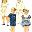 Boy Girl Suit Dress Sewing Pattern Vintage Bubble Skirt Sailor Jacket Pants Shorts 3 4069