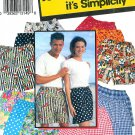Unisex Shorts Sewing Pattern Easy Pull-on Boxer Style Elastic Waist Teen Adult Men Women 0653