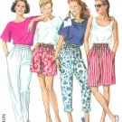 New Look Sewing Pattern Easy Pull On Shorts Pants Capri Bermuda 8-18 6425