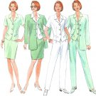 Classic Suit Sewing Pattern Vest Jacket Top Pant Skirt Wardrobe Princess Seams 12 14 16 4888