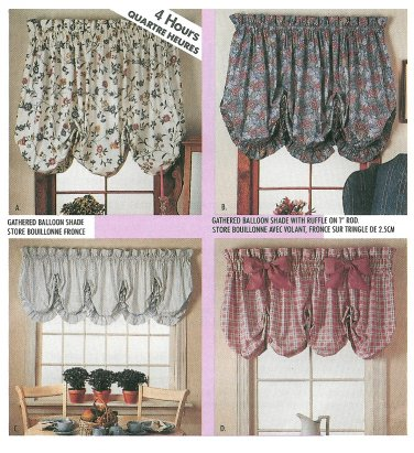 CURTAIN PATTERN SIMPLE - CLOTHES PATTERNS