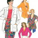 Boxy Suit Jacket Sewing Pattern Loose Fit Bolero Crop Unlined Classic Easy Vintage 6-14 9628