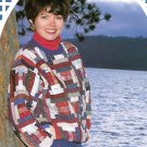 Quilted Patchwork Pullover Top Sewing Pattern Instructions How To Log Cabin Blocks DIY Projects
