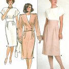 David Warren Retro Dress Sewing Pattern Bolero Jacket Raised Wide Waist Vintage Uncut 12 14 16 3628