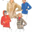 Pullover Top Jacket Sewing Pattern Hoodie Vintage Jane Tise Size 10 Pockets Uncut 5628