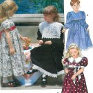 Girls Fancy Dress Sewing Pattern Vogue Prim Church Special Occasions Lace Collar 4-6 7904