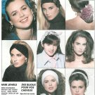 Snood Headband Bow Sewing Pattern Vintage 90s Hair Accessories Braid Flower Rolled 5498