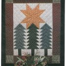 Alpine Star Wall Quilt Pattern Instructions Pine Tree Winter Fall Holiday Cabin Lodge Thimbleberries
