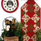 Fat Quarter Table Runner Pattern Instruction Quilt Strip Piece Easy Kitchen Home Cottage Lodge