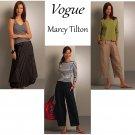 Vogue Sewing Pattern Capri Ankle Pant Skirt Bubble Hemline Cargo Tilton Easy Fashion 6-12 8499
