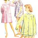 1955 Pajama Sewing Pattern Misses Top Bloomer Short Nightgown Housecoat Duster Button Sz 16 3452