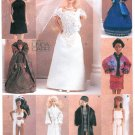Vogue Barbie Doll Clothes Sewing Pattern Wedding Dress Fashion Ethnic Gown Wrap Evening Coat PJ 9531