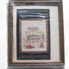 Framed Christmas Cross Stitch Kit Beary Christmas Teddy Bear Sleeping Bed 8 x 10 Aida Janlynn
