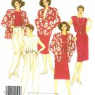 Wardrobe Sewing Pattern Loose Jacket High Waist Pants Shell Top Skirt Vintage Jones NY 14 2372