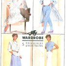 Misses Wardrobe Sewing Pattern Long Unlined Jacket Duster Coat Pants Skirt Top Vintage 12 7881