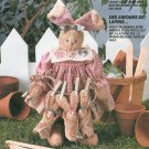 Plush Bunny Rabbit Sewing Pattern Clothes Babies Bunnies Easter Stuffed Animal Toy Nursery Gift 6922