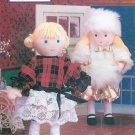 Vintage Holly Hobbie Doll Sewing Pattern Plush Stuffed Dress PJ Holiday Wardrobe 16 Inch 5199
