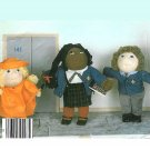 Doll School Clothes Sewing Pattern Soft Sculpture 16 18 Inch Cabbage Patch Toys 2134