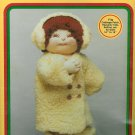 Shearling Coat Sewing Kit 16 18 Inch Dolls Jacket Head Warmer Boots Cabbage Heavenly Kids Softina