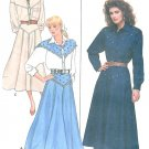 Western Top Skirt Sewing Pattern Cowgirl Yoke Flared Costume Dance 12 14 16 5766