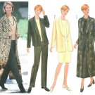 Misses Wardrobe Sewing Pattern Size 14 16 18 Dress Duster Jacket Pants Easy 6208