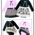 One-zee Conversions Sewing Pattern Onesie Skirt Dress 6 Months To 24 Months Easy