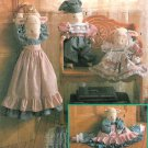 Lamb Doll Sewing Pattern Draft Door Stopper Plush Stuffed Animal Toy Clothes 18 Inch 7314