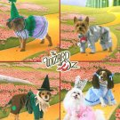 Wizard Of Oz Dog Costume Sewing Pattern XS S M Witch Dorothy Tin Man Scarecrow Munchkin Uncut 2548