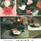 Christmas Decor Sewing Pattern Braided Wreath Stocking Table Runner Placemats Ornaments Holiday 5380