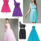 Evening Dress Sewing Pattern Misses 4-10 Prom Formal Cocktail Princess Short Long 6466