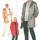 Hooded Jacket Coat Pants Sewing Pattern Plus 18-22 Lined Zipper Below Hip 3698