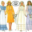 Laura Ashley Wedding Dress Sewing Pattern Bridesmaid 14 Hippie High Waist Prim Overskirt 5790