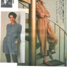 Vogue Lancon Jumpsuit Sewing Pattern 14-18 Bubble Elastic Hem Short Long Mod 2742