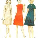 Sheath Dress Sewing Pattern Sz 12 A-line Above Knee Twiggy Jackie O Easy 8865