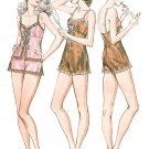Intimates Sewing Pattern Lingerie Teddy Camisole Panties Lace Undergarments XS L 940