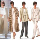 Easy Wardrobe Sewing Pattern Sz 12-16 Duster Suit Jacket Pants Dress 6473 Top