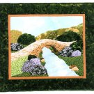 Peaceful Passage Wall Quilt Hand Applique Sewing Pattern River Bridge Easy 28 x 25