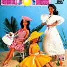 Crochet Sun Dresses Patterns Barbie Fashion Doll Hats Beach Halter Popcorn Annies Attic