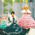 Crochet Dress Gown Patterns Barbie Fashion Doll Birthday Belle 2 Tiara Crown Southern Annies Attic