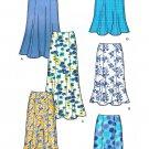 Gored Skirt Sewing Pattern 8-18 Flared Hemline Easy Knee Below Knee 5524