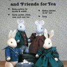 Sailor Bunnies Mouse Sewing Pattern Jointed Plush Stuffed Rabbit Animal Toy 12 14 Inch