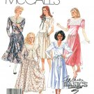 Drop Waist Dress Sewing Pattern 10 Vintage Prairie Big Lace Collar Full Skirt 3256