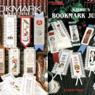 Bookmark Jubilee Cross Stitch 20 Designs Nurse Dog Cow Bear Basketball Book Worm Mother