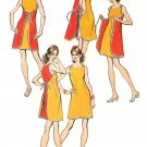 Wrap Dress Sewing Pattern 12/14 Easy Mini Above Knee 2 Piece Sleeveless 9970